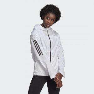 Ветровка для бега Own the Run Performance adidas. Цвет: белый