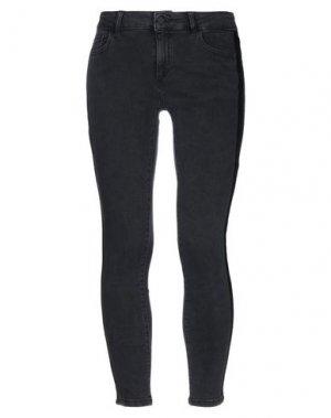 Джинсовые брюки DL1961. Цвет: черный