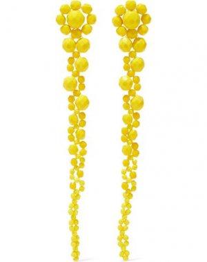 Серьги BEN-AMUN. Цвет: желтый