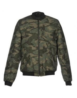Куртка ANERKJENDT. Цвет: зеленый