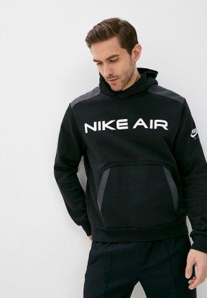 Худи Nike M NSW AIR PO FLC HOODIE. Цвет: черный