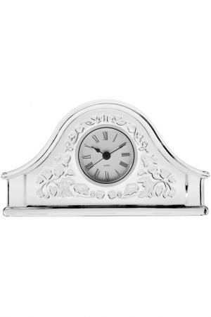 Часы, 21,5 см Crystalite Bohemia. Цвет: белый