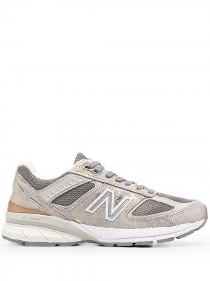 Кроссовки 990 New Balance. Цвет: золотистый