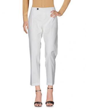 Повседневные брюки ALYSI. Цвет: белый