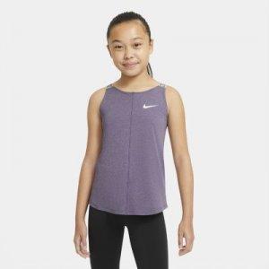Майка для тренинга девочек школьного возраста Nike Dri-FIT