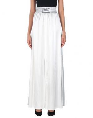 Длинная юбка EVERLAST. Цвет: белый