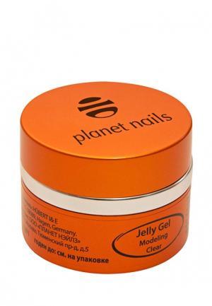 Гель-лак для ногтей Planet Nails 11070 Modeling Clear Jelly Gel конструирующий, прозрачный 15 г. Цвет: прозрачный