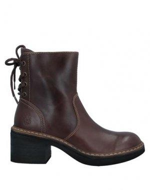 Полусапоги и высокие ботинки FLY LONDON. Цвет: коричневый