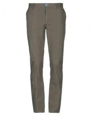 Повседневные брюки FRED MELLO. Цвет: зеленый