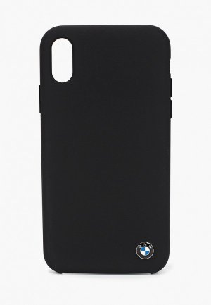 Чехол для iPhone BMW XR, Signature Liquid silicone TPU Black. Цвет: черный