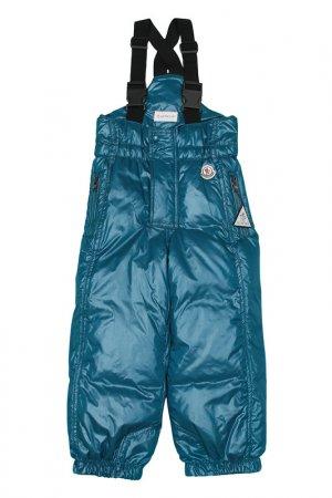 Комбинезон Moncler Kids. Цвет: голубой