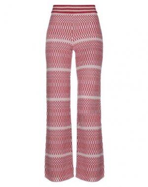 Повседневные брюки ANNA RACHELE. Цвет: фуксия