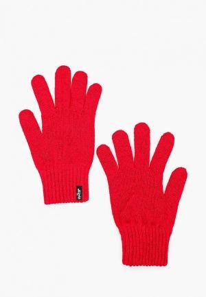 Перчатки Levis® Levi's®. Цвет: красный