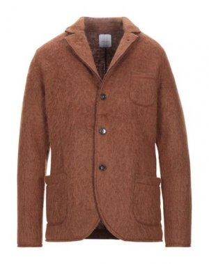 Пиджак BELLWOOD. Цвет: коричневый