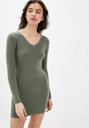 Платье Блисс. Цвет: зеленый