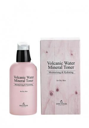 Тоник для лица The Skin House с минеральной вулканической водой Volcanic Water Mineral 130мл