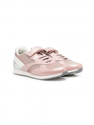 Кроссовки Jensea Geox Kids. Цвет: розовый