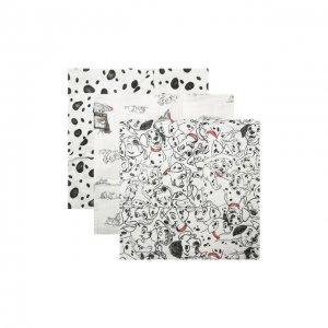 Комплект из трех пеленок Aden+Anais. Цвет: чёрно-белый