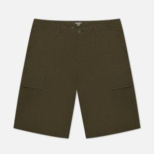 Мужские шорты Regular Cargo 6.5 Oz Carhartt WIP. Цвет: оливковый