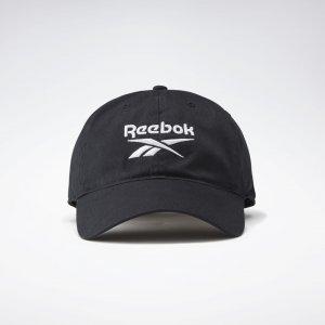 Кепка Active Foundation Badge Reebok. Цвет: black / black