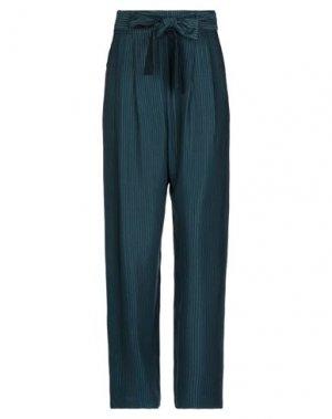 Повседневные брюки DES PETITS HAUTS. Цвет: цвет морской волны