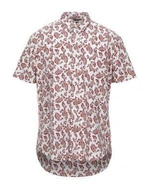 Pубашка BEN SHERMAN. Цвет: красно-коричневый