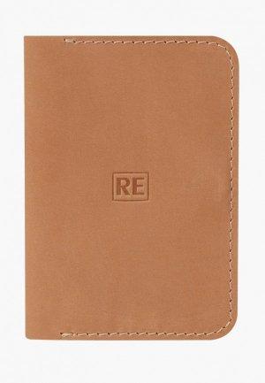 Обложка для документов Reconds. Цвет: бежевый
