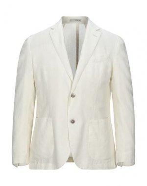 Пиджак 0909 FATTO IN ITALIA. Цвет: слоновая кость