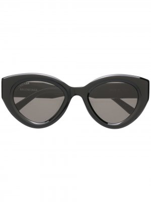 Солнцезащитные очки BB0073S Balenciaga Eyewear. Цвет: черный