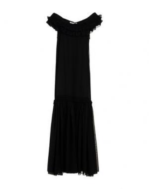Длинное платье OPENING CEREMONY. Цвет: черный