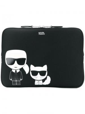 Сумка для ноутбука Ikonik Karl Lagerfeld