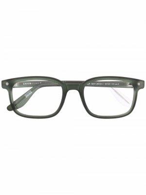 Солнцезащитные очки Willy Snob. Цвет: зеленый