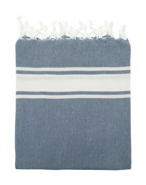 Пляжное полотенце ESPADRIJ. Цвет: грифельно-синий