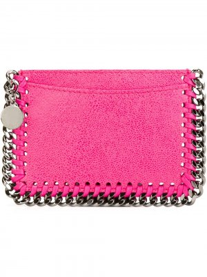 Визитница Falabella Stella McCartney. Цвет: розовый