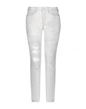 Джинсовые брюки REBEL QUEEN by LIU •JO. Цвет: песочный