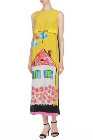 Платье GIULIA ROSITANI. Цвет: двухцветный