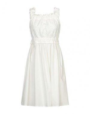 Короткое платье BLUGIRL BLUMARINE. Цвет: белый