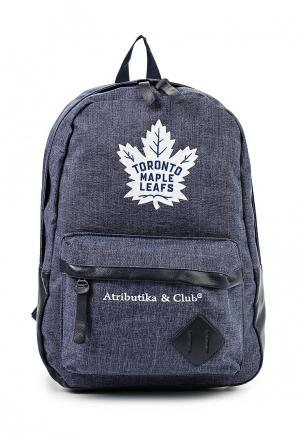 Рюкзак Atributika & Club™ NHL Toronto Maple Leafs. Цвет: синий