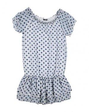 Платье DENNY ROSE. Цвет: белый
