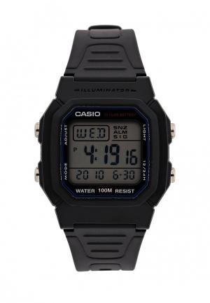 Часы Casio Collection W-800H-1A. Цвет: черный