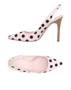 Туфли KATIE GRAND LOVES HOGAN. Цвет: розовый