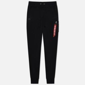 Мужские брюки X-Fit Slim Cargo Alpha Industries. Цвет: чёрный