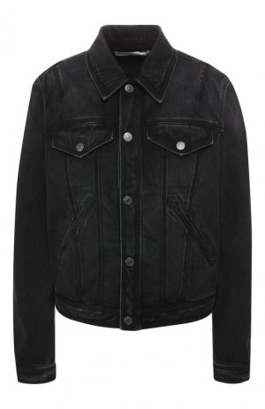 Джинсовая куртка Givenchy. Цвет: чёрный