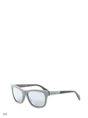 Солнцезащитные очки DL 0111 86C Diesel. Цвет: серый, голубой