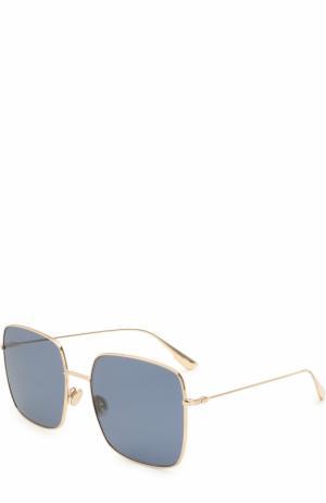 Солнцезащитные очки Dior. Цвет: золотой