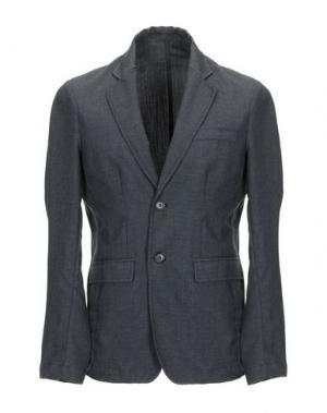 Пиджак THE EDITOR. Цвет: стальной серый