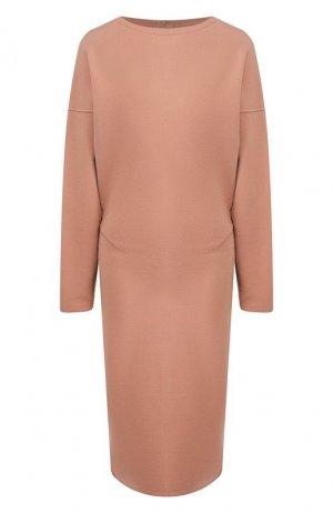 Платье Alaia. Цвет: светло-розовый