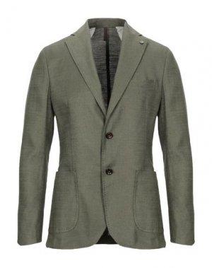 Пиджак LABORATORI ITALIANI. Цвет: зеленый-милитари
