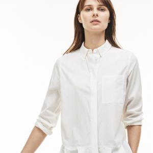 Рубашка Regular fit Lacoste. Цвет: белый