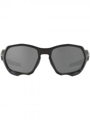 Солнцезащитные очки Plazma Oakley. Цвет: серый